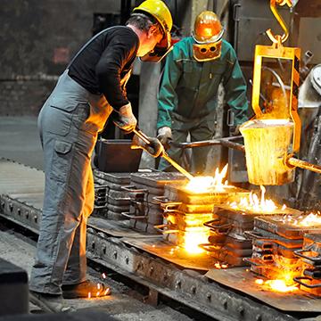 Pisos para Indústria Metalúrgica