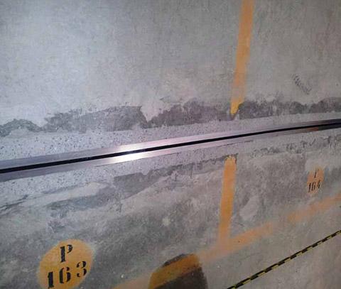 Perfil de Alumínio para junta de dilatação – Sobrepor – CJI AL 100